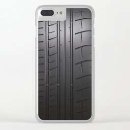Time for rubber burning! Clear iPhone Case
