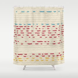 Yarns - Between the lines Shower Curtain