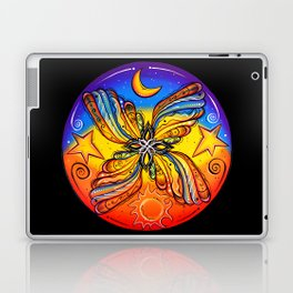 Flying with Them Moon, The Stars and The Sun Laptop & iPad Skin