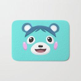 Animal Crossing Bluebear the Cub Bath Mat