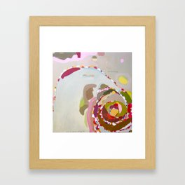 hanging is only scary when you're small Framed Art Print
