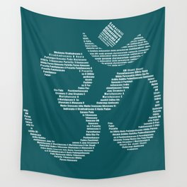 Yoga Every Damn Day Wall Tapestry