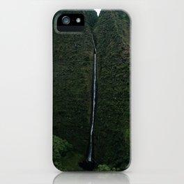 Kauai Waterfall iPhone Case