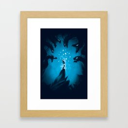 Fear My Song  Framed Art Print
