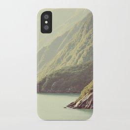 Alaskan hills fading iPhone Case