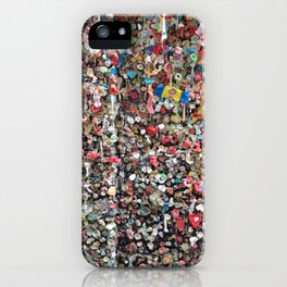 Seattle's Gum Wall iPhone Case