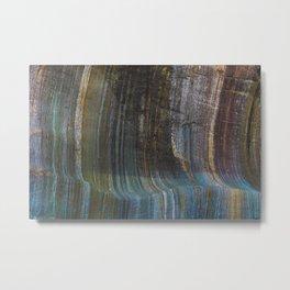 Glacier Art Metal Print