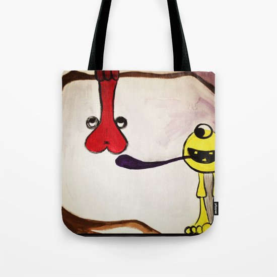Get your mind in the gutter Tote Bag
