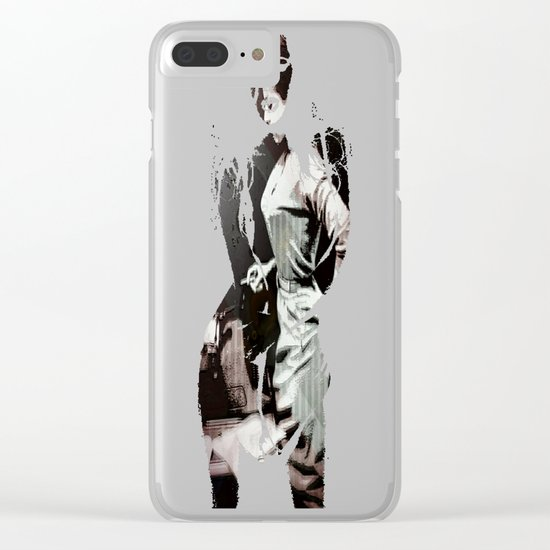 Vintage Erotica Dramatist Clear iPhone Case