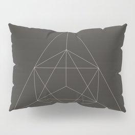 Geometric Dark Pillow Sham