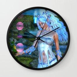 Mysticals Lake Wall Clock