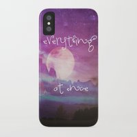 dreamer iPhone & iPod Cases featuring DREAMER by Monika Strigel