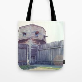 Fort Vancouver Tote Bag