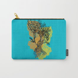 peacock tree Carry-All Pouch