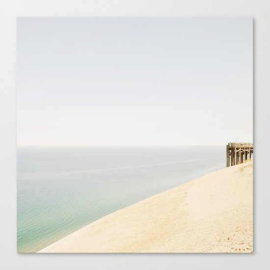 Pier 9 Lake Michigan Dune Canvas Print
