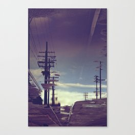 Reflection - Downtown Los Angeles #40 Canvas Print