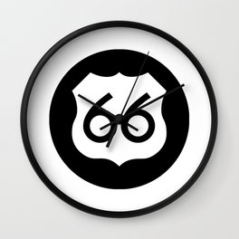 Route 66 Ideology Wall Clock