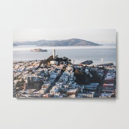 Coit Tower - San Francisco, CA Metal Print