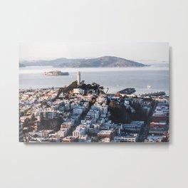 Coit Tower - San Francisco, CA Metal Print