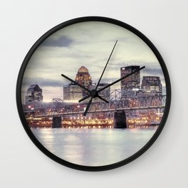 Louisville Kentucky Wall Clock