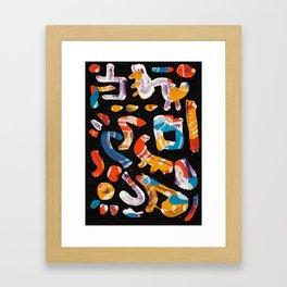 Pattern № 6 Framed Art Print