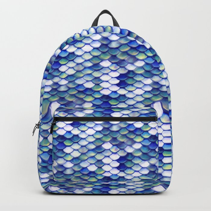Mermaid Tale Pattern Backpack