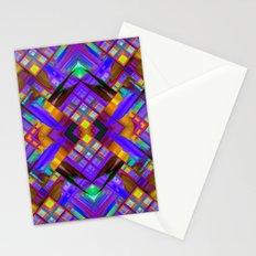 Colorful digital art splashing G480 Stationery Cards
