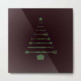 Culinary Christmas  Metal Print