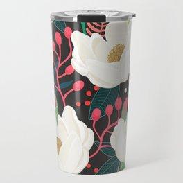 The Garden of Alice, flower, floral, blossom art print Travel Mug