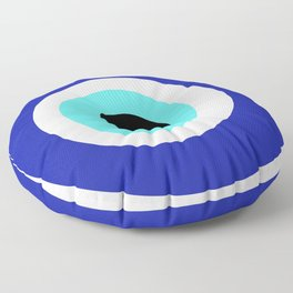 Blue Eye Floor Pillow