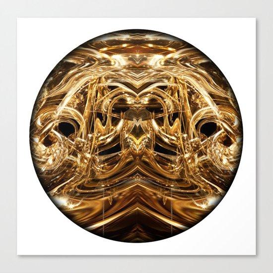oro tre Canvas Print