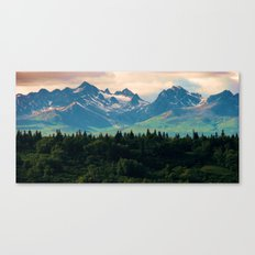 Escaping from woodland heights II Canvas Print