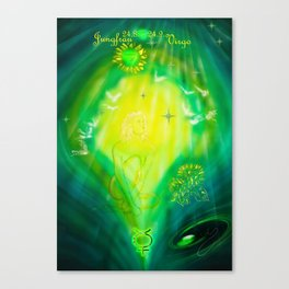 Zodiac sign Virgo  2 Canvas Print