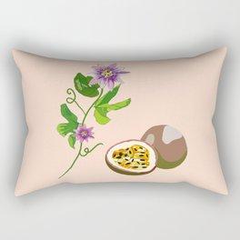 Passiflora Passion flowers Rectangular Pillow