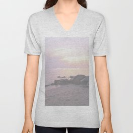 Sea You Soon Sunset Unisex V-Neck