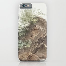 Overgrown Rocks (ca 1809-1812) by Joseph August Knip iPhone Case