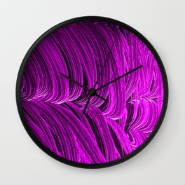 So much pink Wall Clock