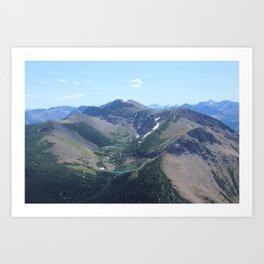 """The Rockies"" Art Print"