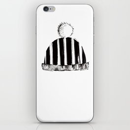 cap hat with bubo iPhone Skin