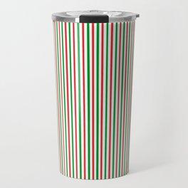 Christmas Time for Stripes Travel Mug