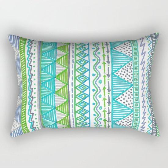 Ocean T Rectangular Pillow