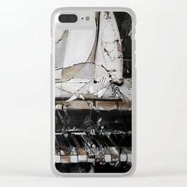 Piano Clear iPhone Case