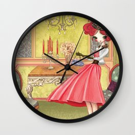 Victorian Liselle Wall Clock