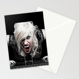 Sexy Female Vampire Stationery Cards