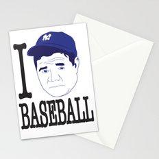 I __ Baseball Stationery Cards
