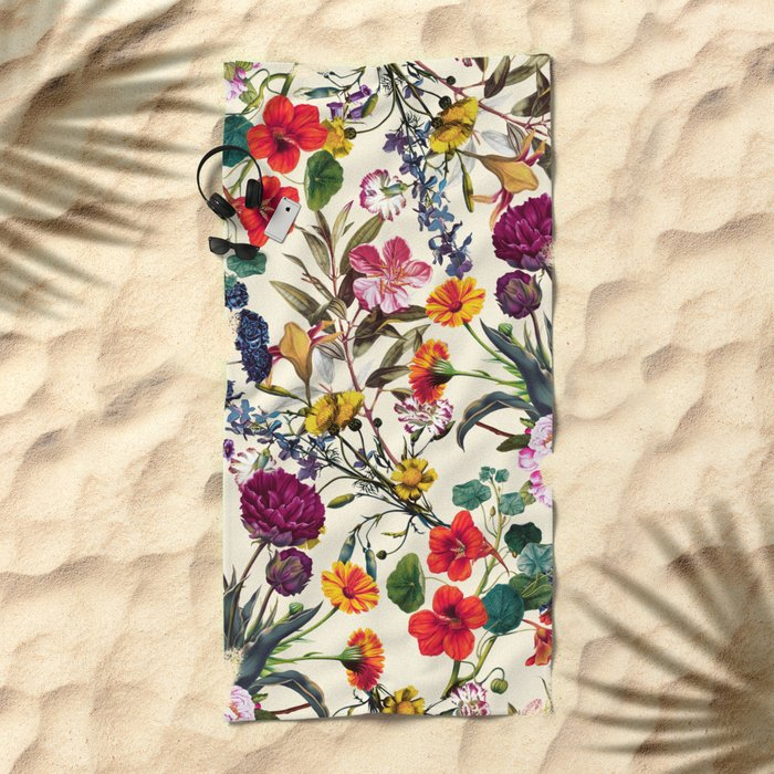 Magical Garden V Beach Towel