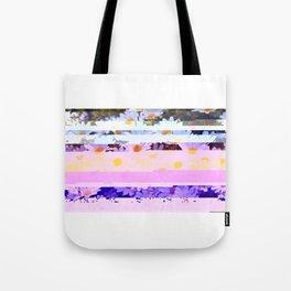 Daisy - Glitch Art Tote Bag