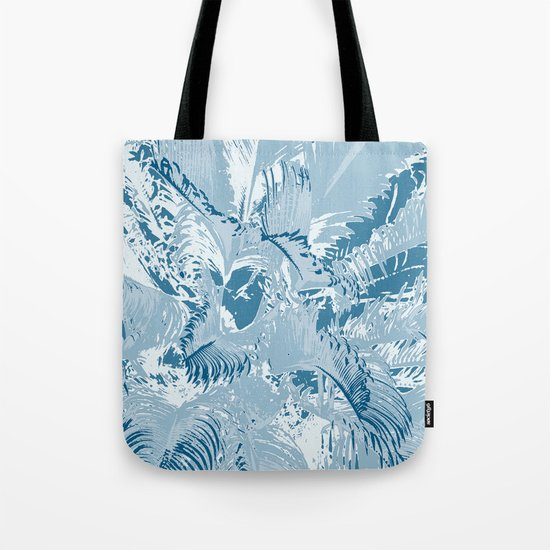 The blue mask Tote Bag