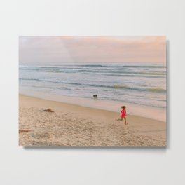 Summer on the beach Metal Print