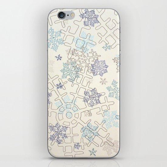 Beaucoup de Neige iPhone & iPod Skin